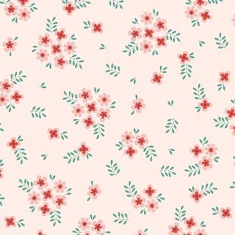 抽象的な花のパターンの背景ベクトルイラスト抽象的な背景