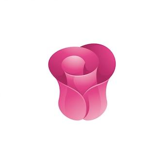 Иллюстрация абстрактной цветок розы