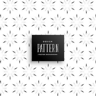 추상 꽃 스타일 패턴 배경