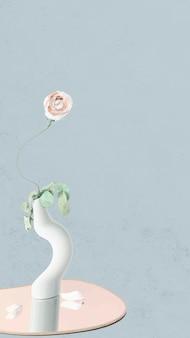 Vettore astratto del fondo della carta da parati del fiore