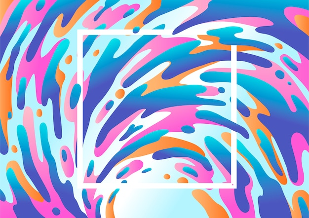 Abstract fluid background