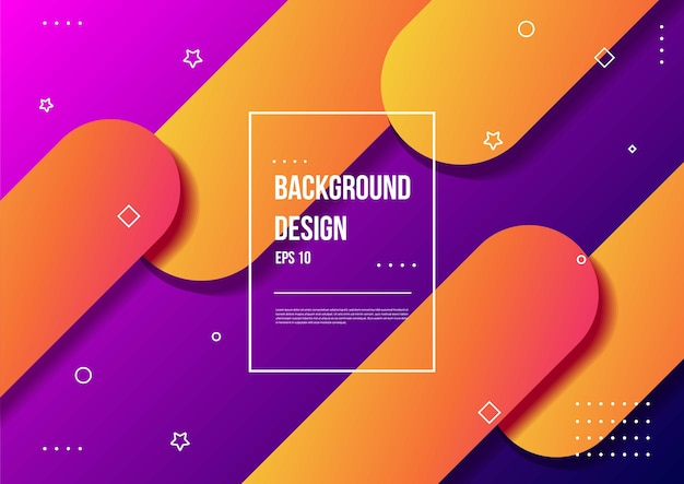 Abstract fluid color gradient background