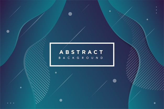 Abstract fluid creative template background