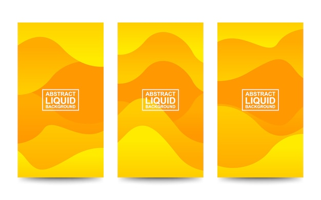 Abstract fluid waves gradient background for web and cover