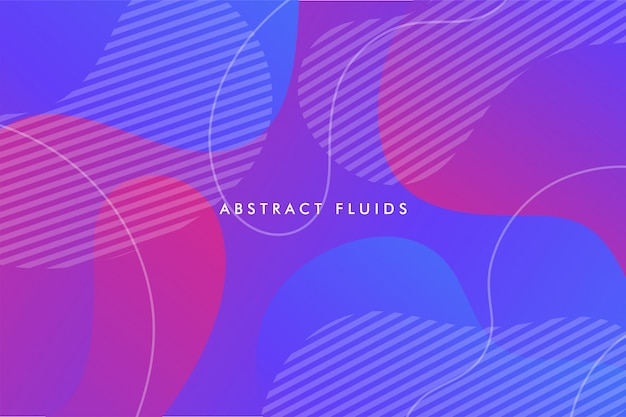 Abstract fluids background composition