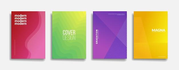 Abstract flyer, poster. modern gradient design.