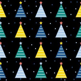 추상 숲 원활한 패턴 배경입니다. 디자인 카드, 벽지, 앨범, 스크랩북, 휴일 포장지, 섬유 직물, 가방 프린트, 티셔츠 등을 위한 유치한 간단한 손으로 그린 표지