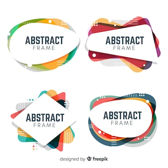 Abstract frame collection