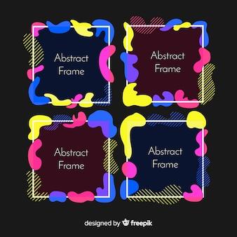 Набор абстрактных кадров