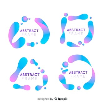 Abstract frames set