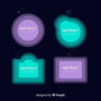 Abstract frames set