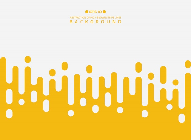 Abstract of fresh yellow color stripe lines pattern background.