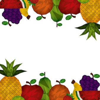 Abstract fruit design, vector illustration eps10 graphic