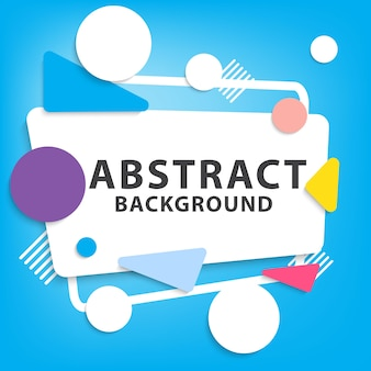 Abstract fun background design