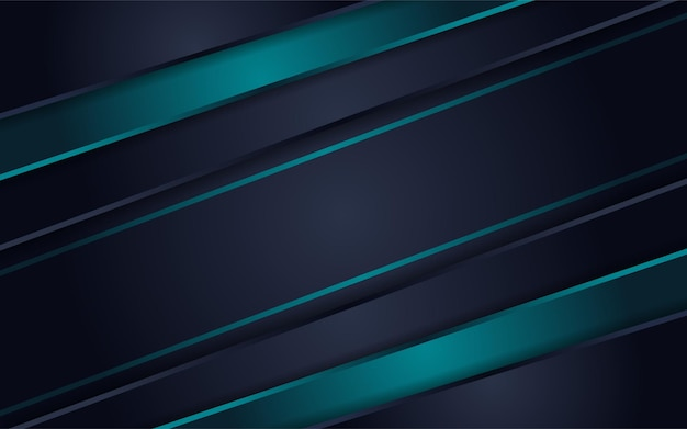 Abstract futuristic dark grey background combined with green element combination