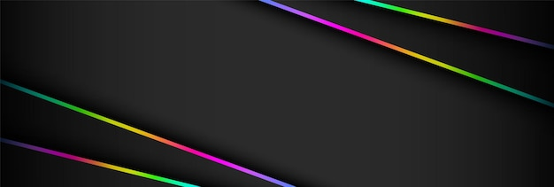 Abstract futuristic dark and rgb light game background