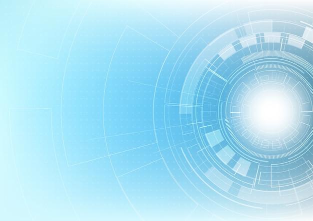 추상 미래 혁신 기술 배경
