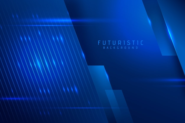 Abstract futuristic wallpaper concept