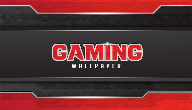Abstract gaming wallpaper  design with grunge effect