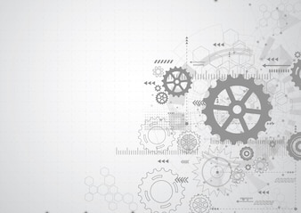 Abstract gear wheel mechanism background