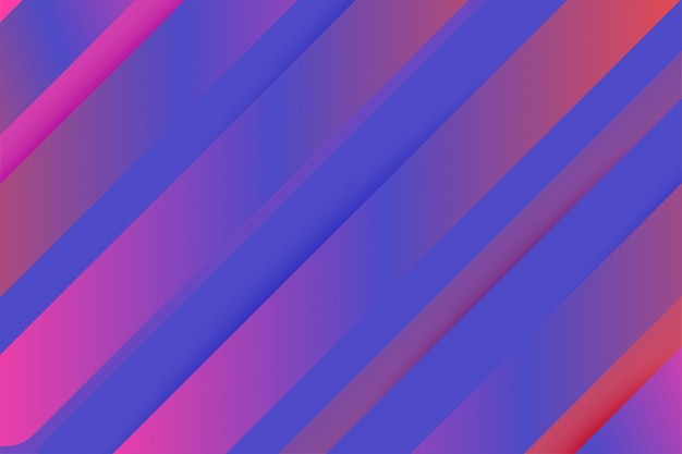 Abstract gemoetric background with line colorful gradient