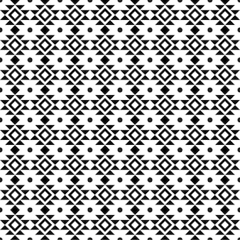 Abstract geometric american ethnic indigenous pattern black and white geometric pattern