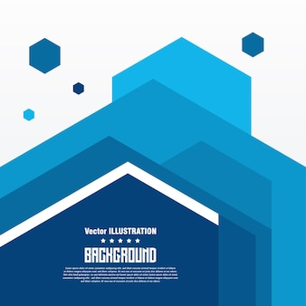 Abstract geometric background banner vector illustration