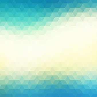 Abstract geometric background in blue and green tones