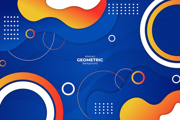 Abstract geometric background colorful