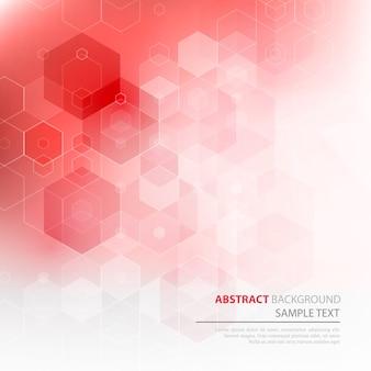 抽象的な幾何学的な背景。六角形の幾何学的なデザイン。