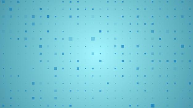Sircles의 추상적인 기하학적 배경입니다. 빈 공간이 있는 파란색 픽셀 배경입니다. 벡터 일러스트 레이 션.