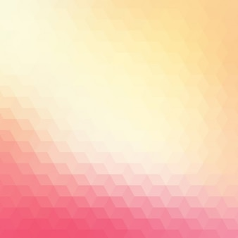 Abstract geometric background in red and cream tones
