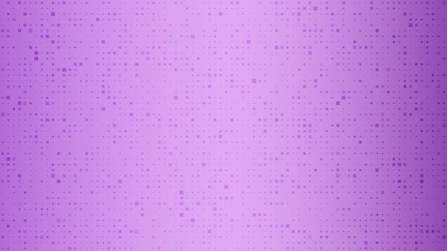 Abstract geometric background of squares. purple pixel background with empty space. vector illustration.