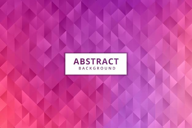 抽象的な幾何学的な背景の壁紙。カラフルなポリゴン六角形プレミアムベクトル