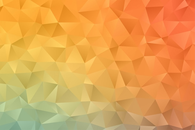 Abstract geometric background wallpaper. colorful polygon hexagon premium vector