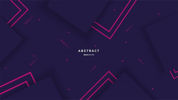 Abstract geometric background with colorful shapes vector