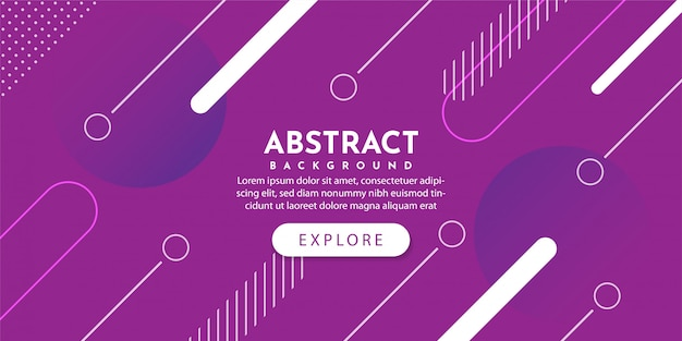 Abstract geometric background with dynamic gradient