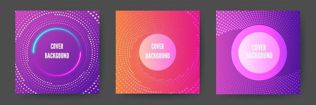 ビジネスパンフレットの表紙デザインのラインテクスチャと抽象的な幾何学的な背景。