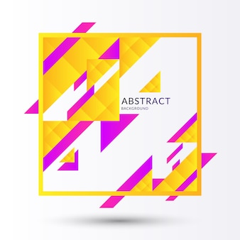 Абстрактный геометрический фон с треугольниками в стиле минимализма. векторная иллюстрация.