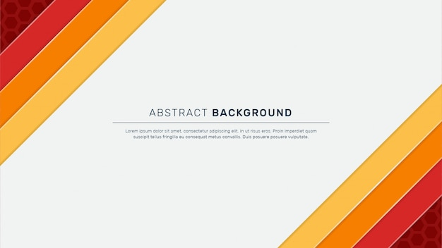 Abstract geometric background with white space
