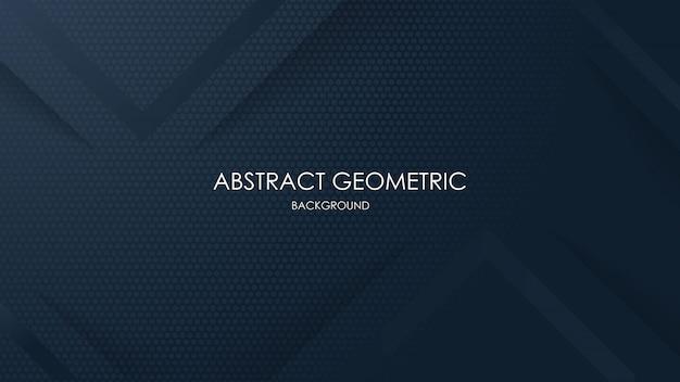 Абстрактный геометрический черный фон