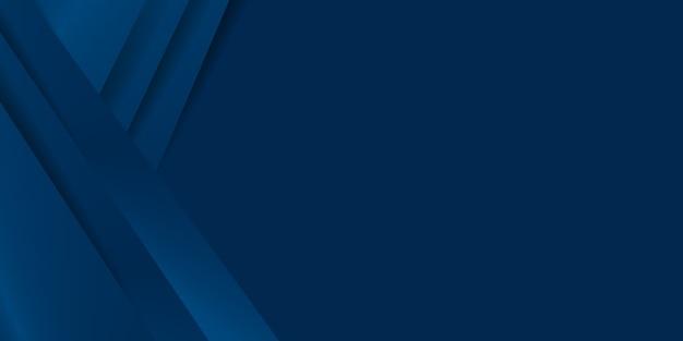 抽象的な幾何学的な青い背景。