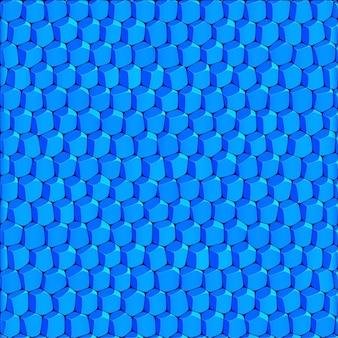 추상적 인 기하학적 밝은 파란색 배경