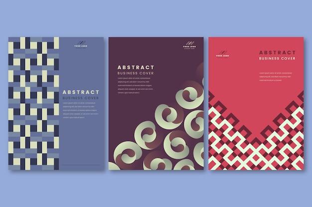 Pacchetto di copertura aziendale geometrica astratta