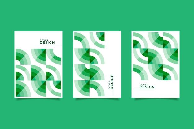 Абстрактные геометрические бизнес обложка