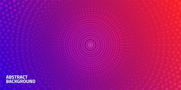 Abstract geometric circle dot background