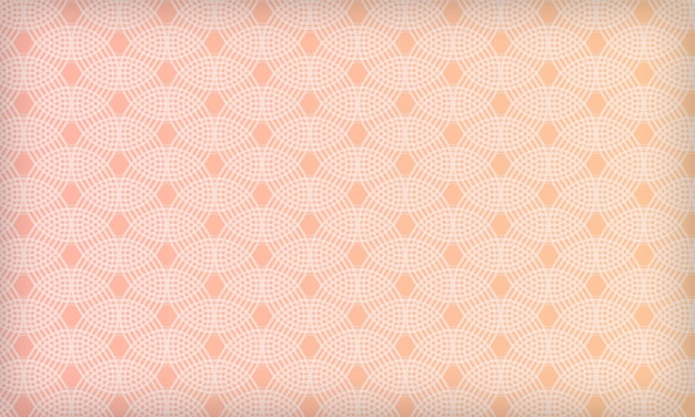Abstract geometric circle pattern background with gradient pastel color modern soft design template