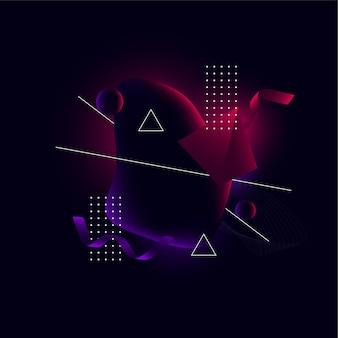 Абстрактная геометрическая композиция