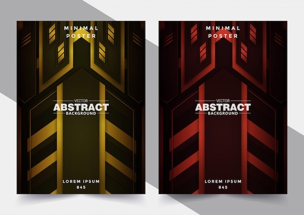 Abstract geometric covers