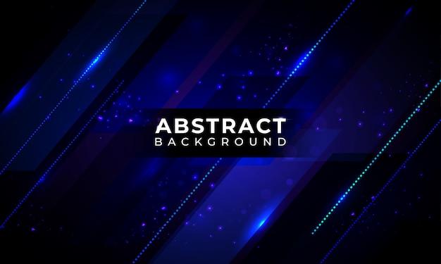 Abstract geometric dark blue background